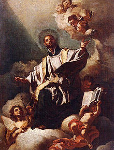 St. Cajetan by Gaetano dei Conti di Tiene Public Domain Image