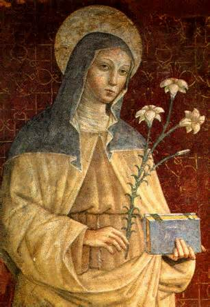 St. Clare of Assisi Public Domain Image