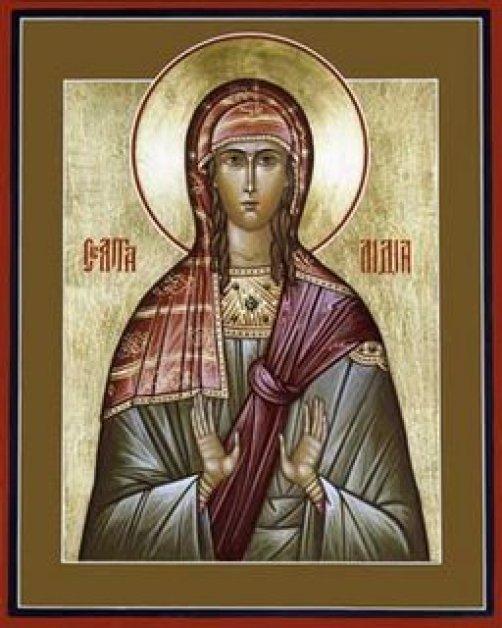 St. Lydia of Thyatira Public Domain Image
