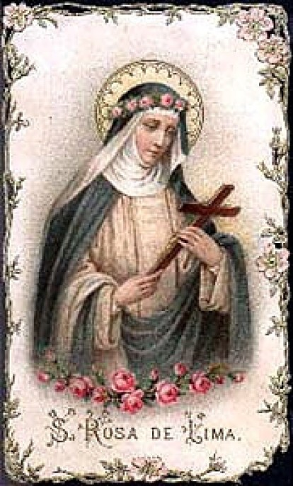 St. Rose of Lima Public Domain Image