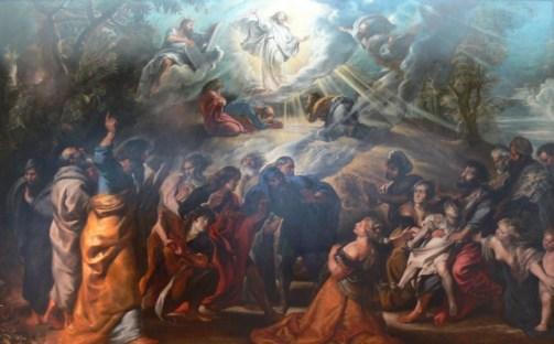 The Transfigurateion by Rubens Public Domain Image