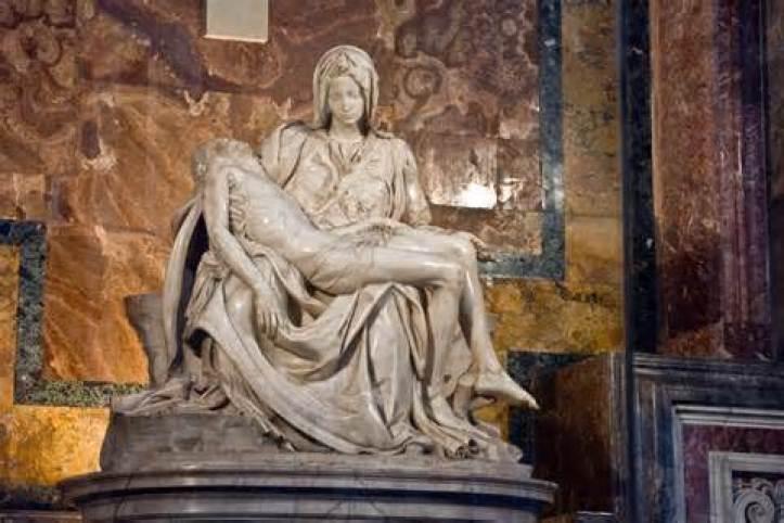 La Pieta Michelangelo Public Domain Image