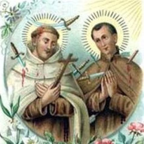 Bl. Denis of the Nativity and Bl. Redemptus of the Cross Public Domain Image
