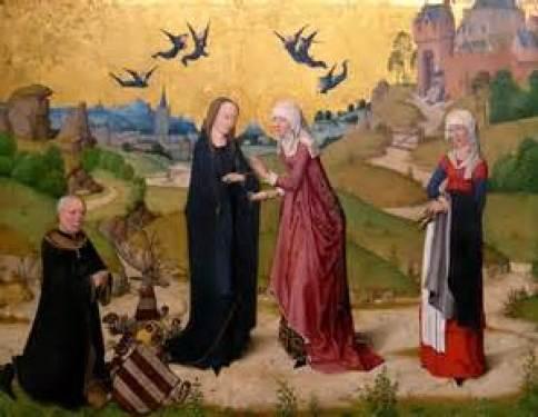 Virgin Mary Visits Elizabeth