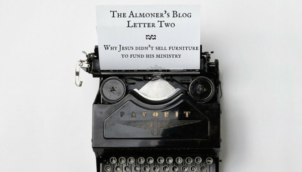 The Almoners' Blog- Letter One (2)