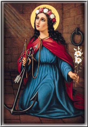 Image result for St. Philomena, Virgin and Martyr from A Book of Prayers and Reflections by Fr. Lasance, 1911