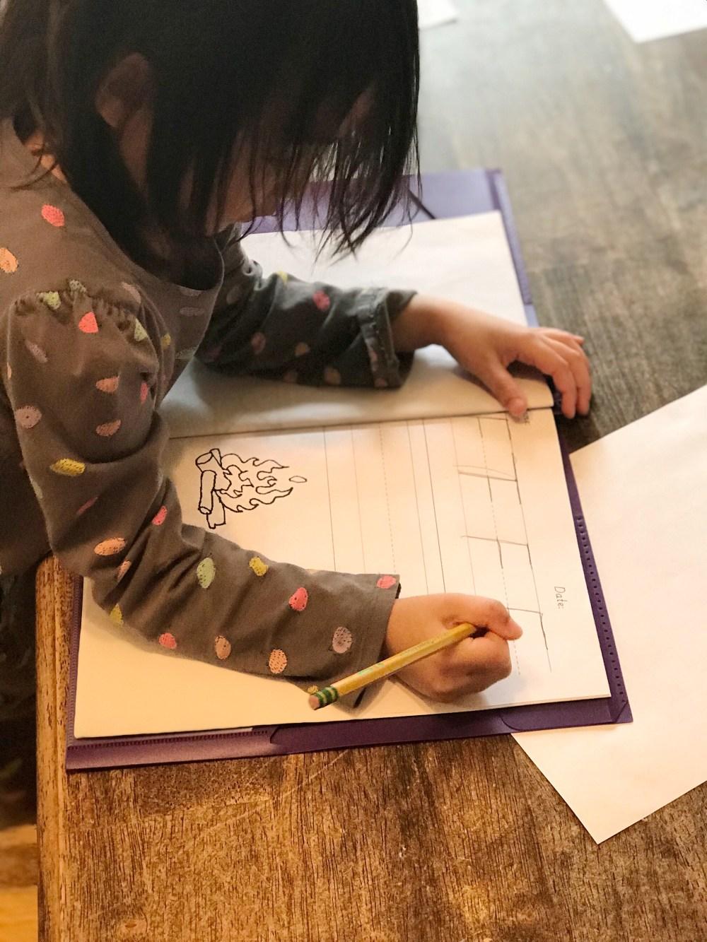 medium resolution of Teaching Handwriting   Catholic Homebody