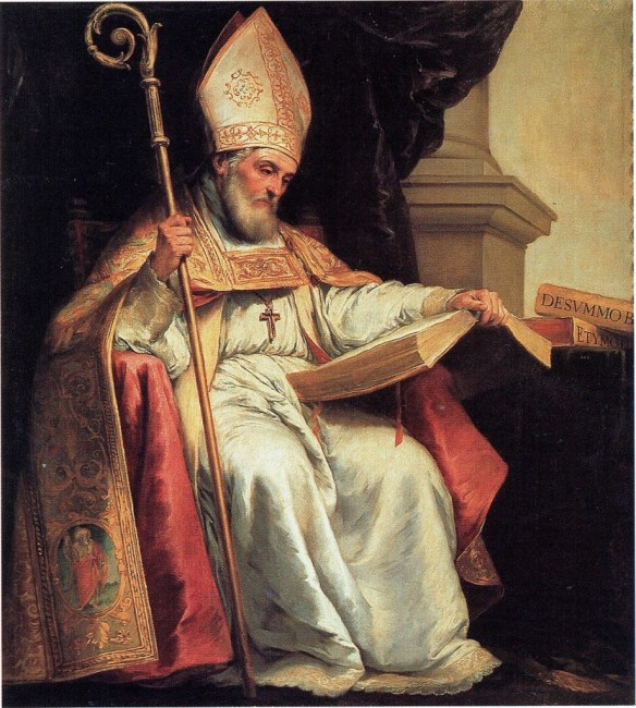 Saint Isidore of Seville, by Murillo (credits/details)