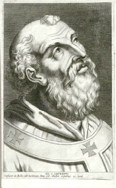 Pope Saint Silverius (source)