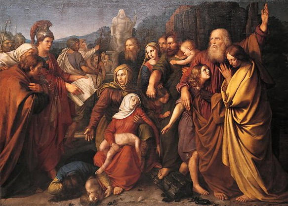 Maccabees, by Wojciech Stattler (1800–1875) source