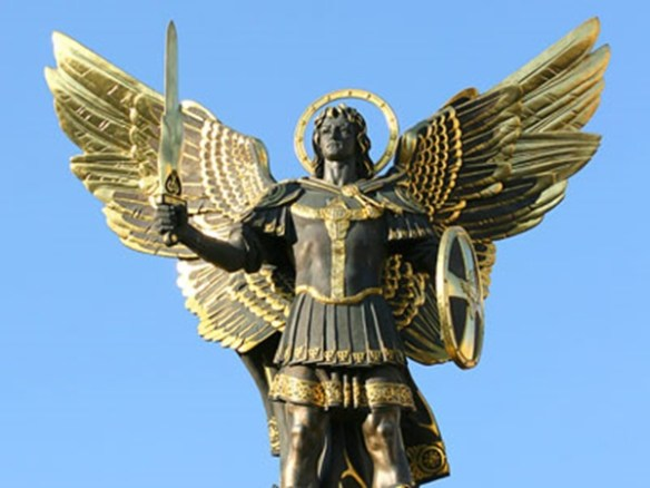 Monument to the Archangel Michael in Kiev (other photos)