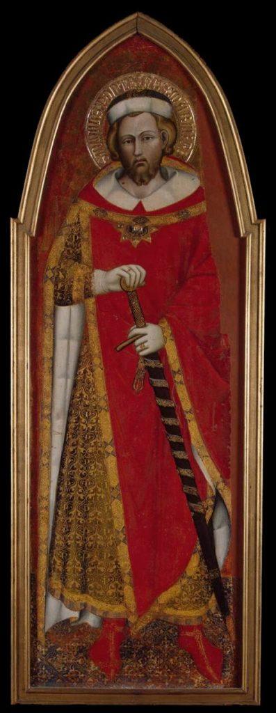 Pope Saint Pontian, by Spinello Aretino (source) https://en.wikipedia.org/wiki/Spinello_Aretino