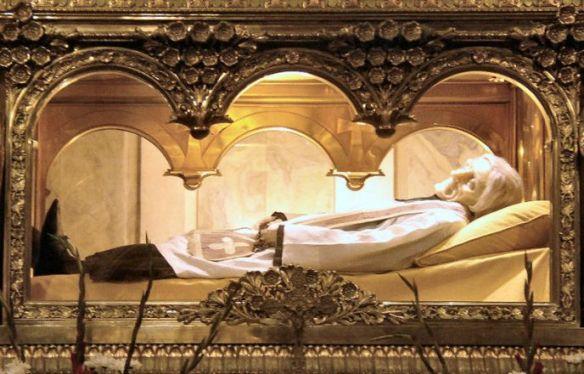 Relics of Saint John Marie Vianney