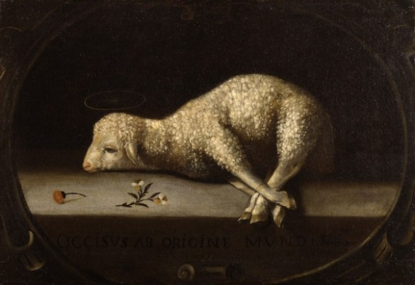 The Sacrificial Lamb, by Josefa de Ayala (Portuguese, ca. 1630-1684 — source)