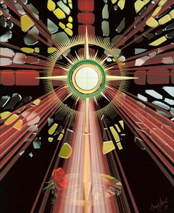 Blessed Sacrament adoration