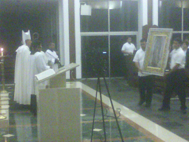 Miami vocation monstrance pilgrimage @ St John Vianney College Seminary, Miami, FL