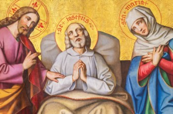 How did St. Joseph die