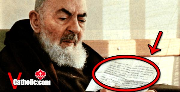"Padre Pio's ""Secret Weapon Prayer"""