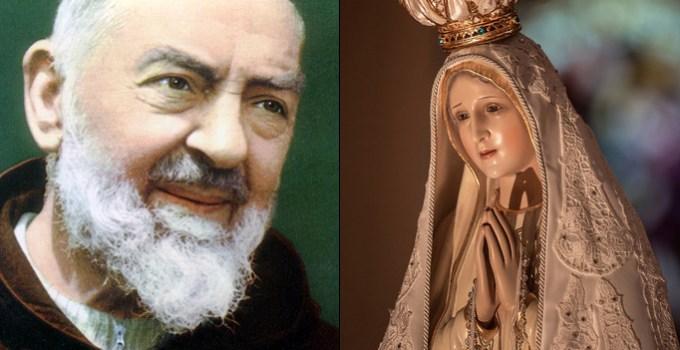 Fatima Once Cured Padre Pio