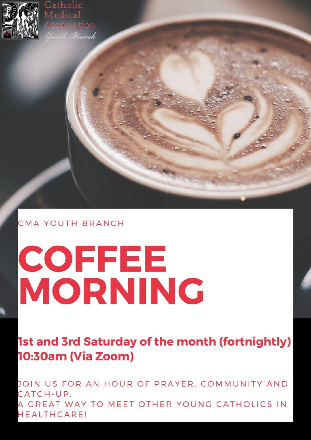CMA Coffee Morning Poster