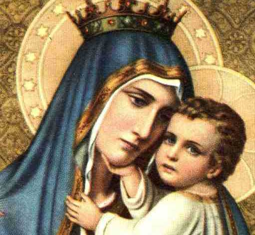 The Brown Scapular and Our Lady of Mt Carmel