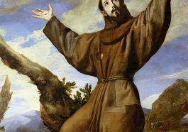 Saint Francis of Assisi Painting by Ribera