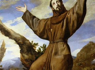 Saint Francis of Assisi Painting by Ribera