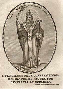 February 17: St. Flavian, Bishop, Martyr