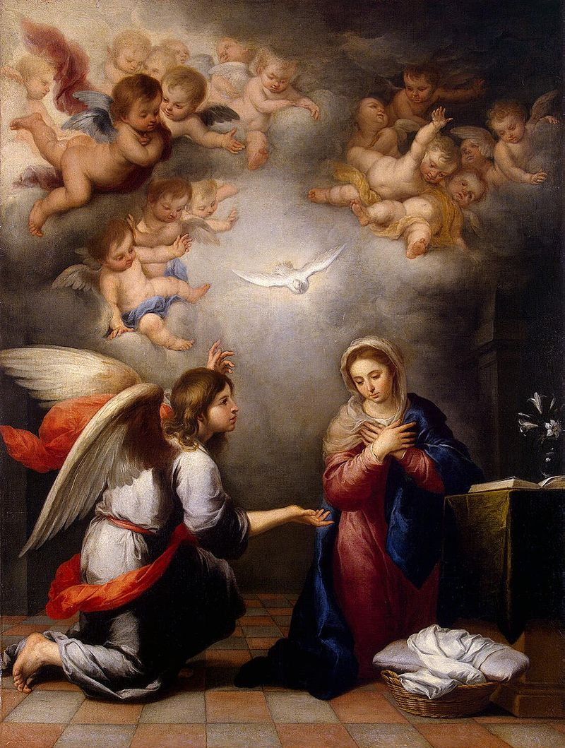 March 25: The Annunciation of the Blessed Virgin Mary