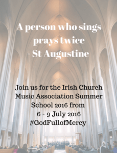 A person who sings prays twiceSt Augustine