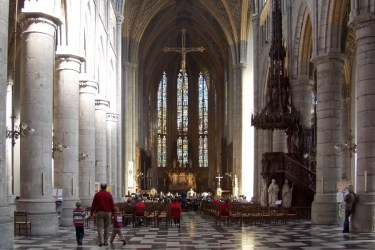 Catholic Church in Belgium sees year on year rise in Mass attendance