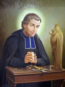 Saint Louis Marie Grignion De Montfort : saint, louis, marie, grignion, montfort, Saint, Louis-Marie, Grignion, Montfort, Little, Catholic