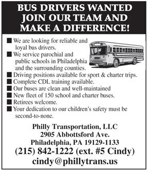 Employment – Catholic Philly