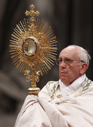 Popes Sunday focuses on need for peace gift of Eucharist  Catholic Philly