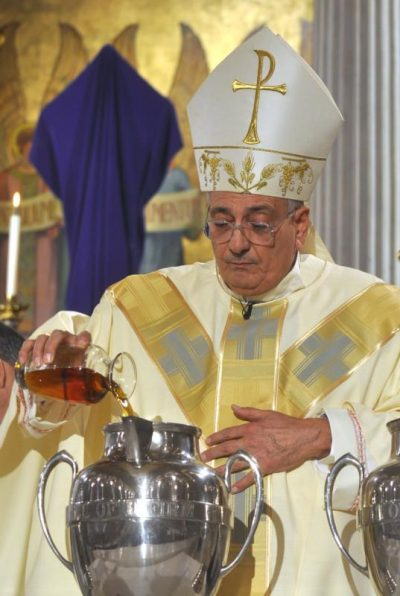 Anointing With Holy Oil Consecration And Promise From Moses To Jesus Catholic Philly