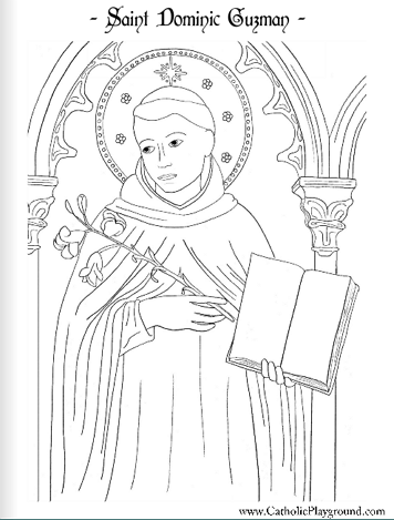 Catholic Saints Coloring Pages : catholic, saints, coloring, pages, Saints, Coloring, Pages, Catholic, Playground