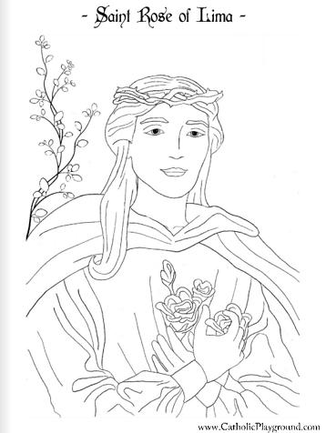 160 Saints Coloring Pages ideas | saint coloring, coloring