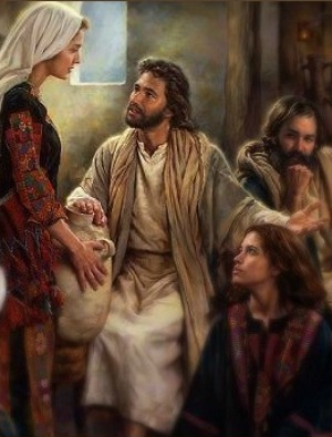 jesus relationship with mary martha and lazarus in the bible