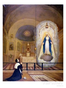 le-cerf-apparition-of-the-virgin-to-st-catherine-laboure-31st-july-1830-1835