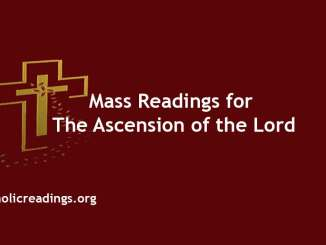Mass Readings for The Ascension of the Lord