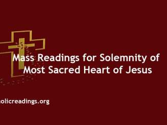 Mass Readings for Solemnity of Most Sacred Heart of Jesus