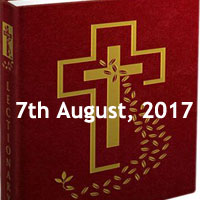 Monday of the Eighteenth Week in Ordinary Time -Holy Mass Readings