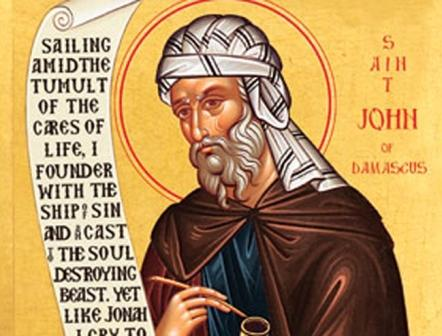 Saint John of Damascus Feast Day
