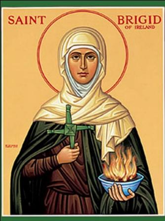 Saint Brigid of Ireland Feast Day