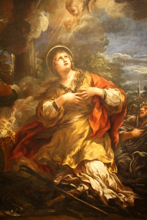 St Martina of Rome Feast Day