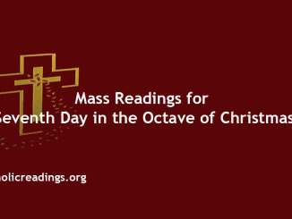 Catholic Mass Readings for Seventh Day in the Octave of Christmas