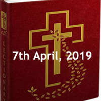 Catholic Daily Readings and Daily Reflections for Fifth Sunday of Lent - 7th April 2019 - Year C