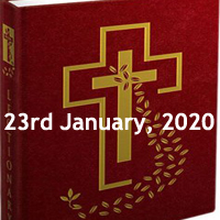 Catholic Daily Readings for 23rd January 2020, Thursday of the Second Week in Ordinary Time, Year A - Daily Homily