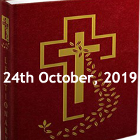 Catholic Daily Readings for 24th October 2019, Thursday of the Twenty-ninth Week in Ordinary Time Year C - Daily Homily