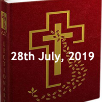 Catholic Daily Readings for 28th July 2019, Seventeenth Sunday in Ordinary Time - Year C
